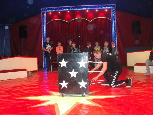 Mitmachzirkus Fellini zu Gast an unserer Schule